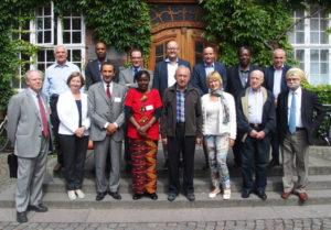 Gruppebilde fra Brandeis Institutes forrige møte for internasjonale dommere i 2016.